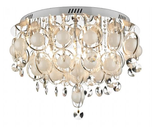 Cloud 18-light Polished Chrome Baubles Pendant Ceiling Light CLO1850 (827665)